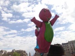 Floating Barney