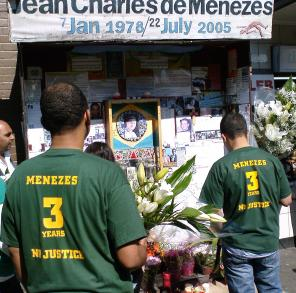 Jean Charles de Menezes - 3 years since his death - Stockwell station