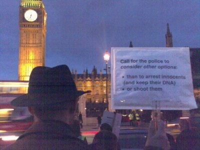 Authorised demonstration in Parliament Square
