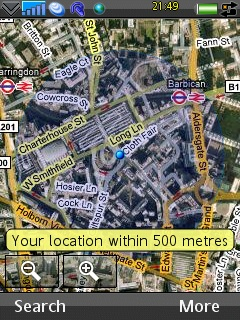 Google Mobile Map